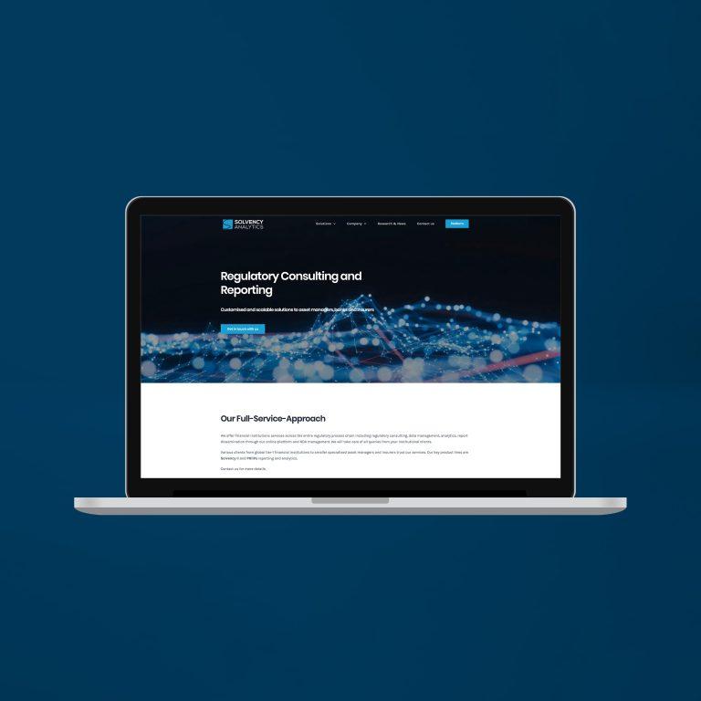 Solvencyanalytics.com Website