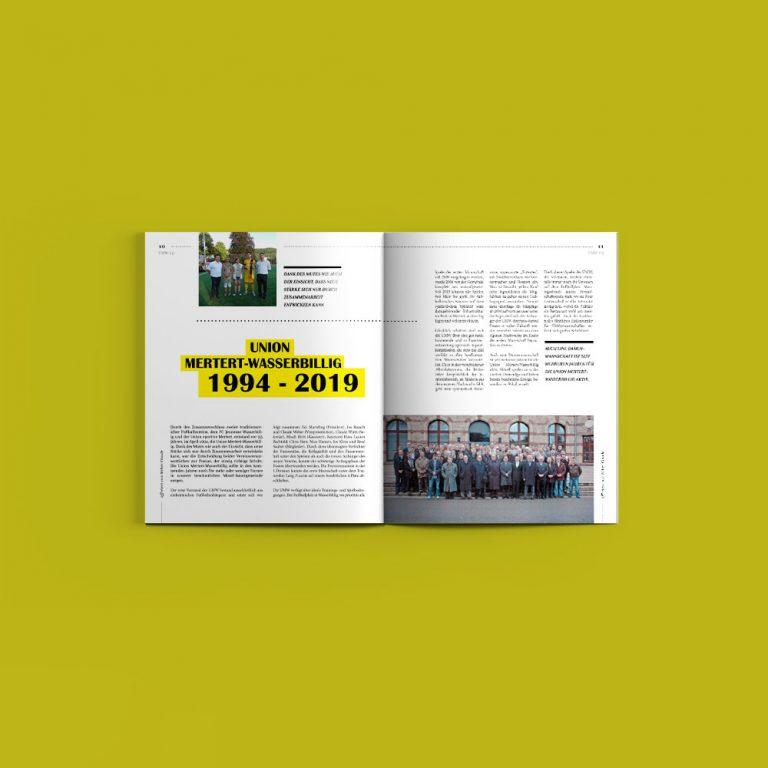 Union Mertert-Wasserbillig Magazine