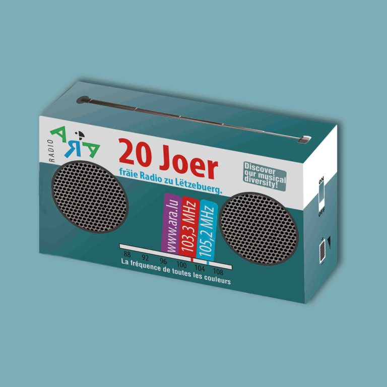 Radio ARA Promotional Gift